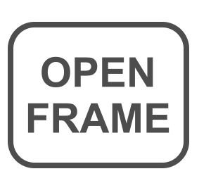 Monitory Hardy Open Frame